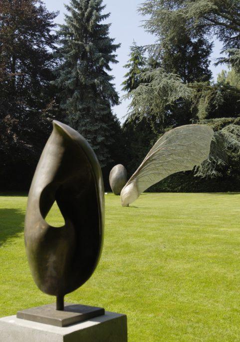 some sculptures in van Buuren museum