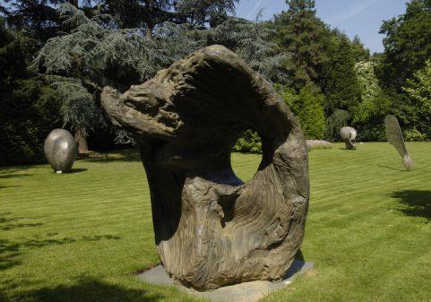some sculpture in Van Buuren museum